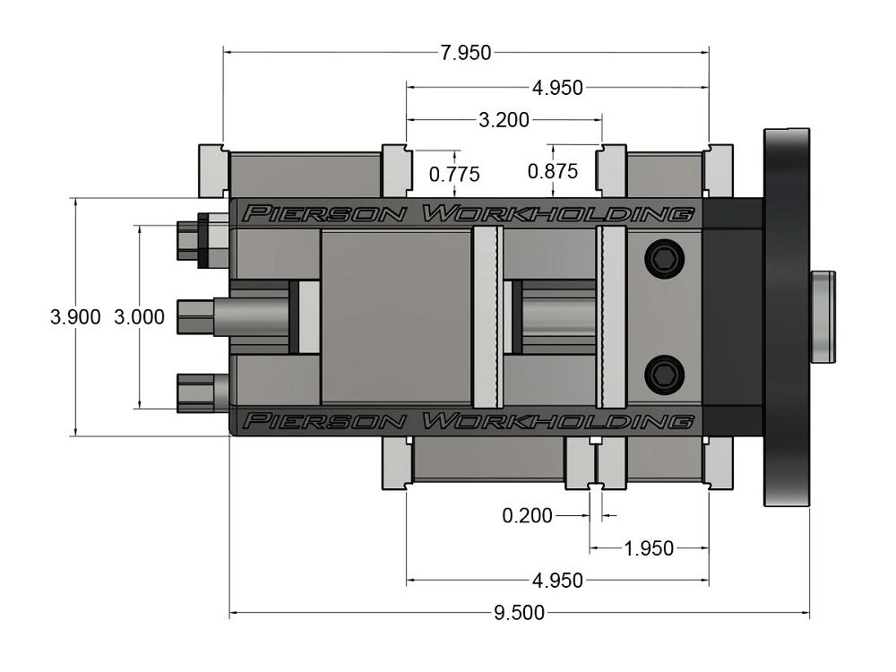 RotoVise Dimensions